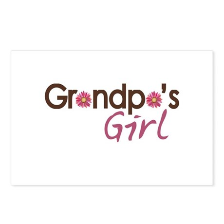 Grandpa's Girl Postcards (Package of 8)