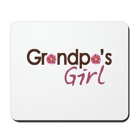 Grandpa's Girl Mousepad
