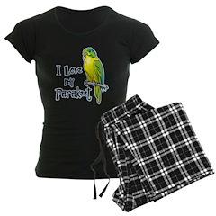 I Love my Parakeet Pajamas
