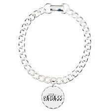 Little Bad Ass Charm Bracelet, One Charm