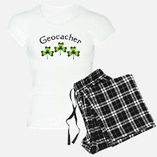 Geocacher 3 Shamrocks Pajamas