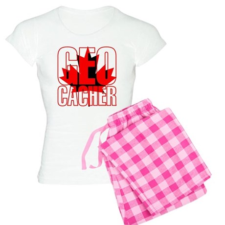 Maple Leaf Geocacher Women's Light Pajamas