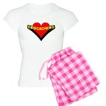 Geocaching Heart Women's Light Pajamas