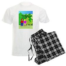 Geocaching Christmas Pajamas