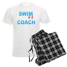 Swim Coach Blue Pajamas