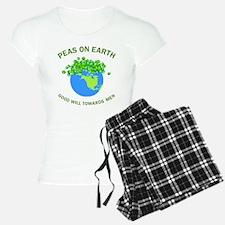 Peas on Earth Pajamas