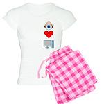 Eye Heart Computers Women's Light Pajamas