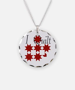 Star Quilt Pattern Necklace