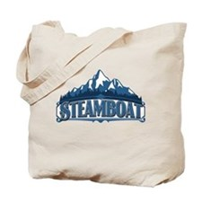 Steamboat Blue Mountain Tote Bag
