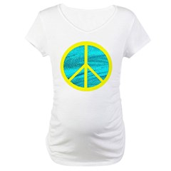 Peace Yellow Peace Symbol Shirt