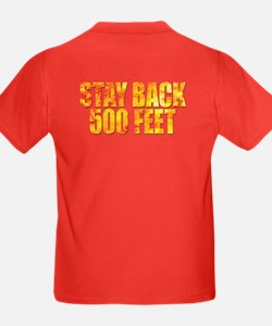 Firefighters: Stay back T