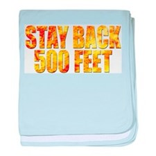 Firefighters: Stay back baby blanket