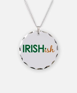 Irish-ish (St. Patty's Day) Necklace Circle Charm