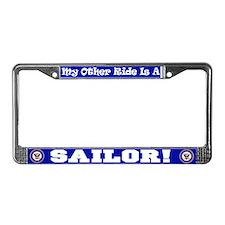 US Navy License Plate Frame