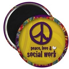 "Peace, Love, & SW 2.25"" Magnet (100 pack)"