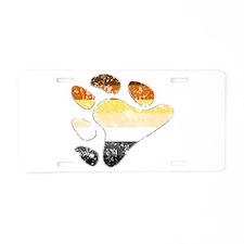 Bear Pride Claw Aluminum License Plate