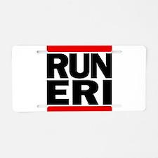 RUN ERI Aluminum License Plate