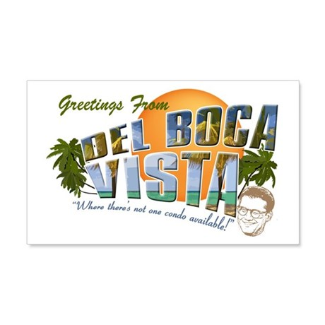 Del Boca Vista 22x14 Wall Peel