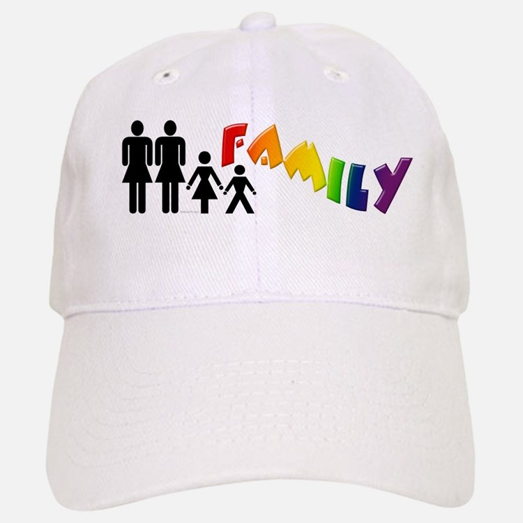 Lesbian Pride Family Baseball Baseball Cap