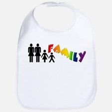 Lesbian Pride Family Bib