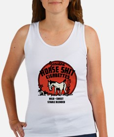 Horse Shit Cigarettes Women's Tank Top