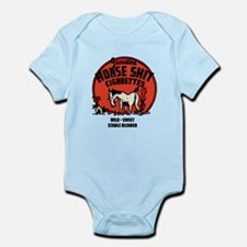Horse Shit Cigarettes Infant Bodysuit