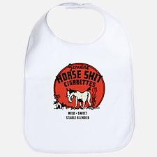 Horse Shit Cigarettes Bib