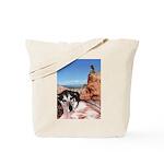 Doberman Shepherd Mix Tote Bag