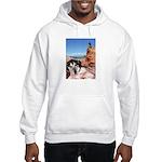 Doberman Shepherd Mix Hooded Sweatshirt