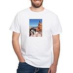 Doberman Shepherd Mix White T-Shirt