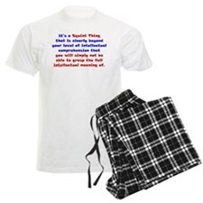 Intellectual Comprehension Pajamas