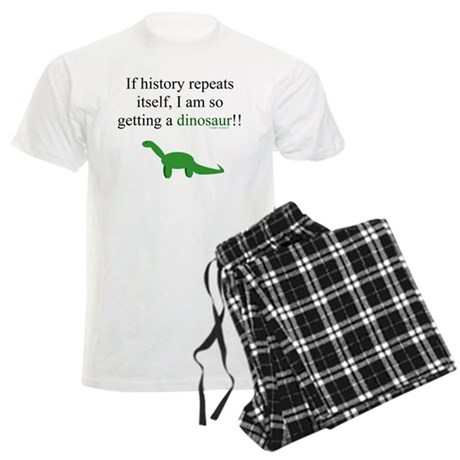 If History Repeats Men's Light Pajamas