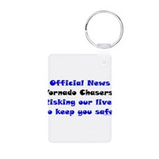 Official Tornado Chasers Keychains