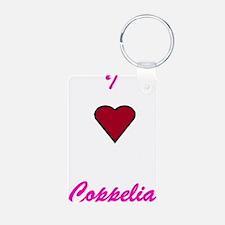 Heart Coppelia Keychains