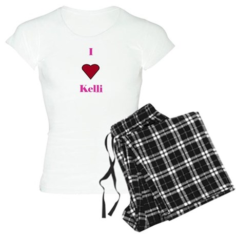 Heart Kelli Women's Light Pajamas