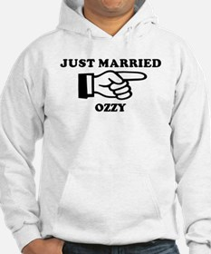 Just Married Ozzy Hoodie