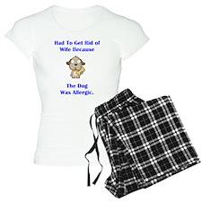 Got Rid of Wife (dog) Pajamas