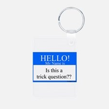 Trick Question?? Keychains