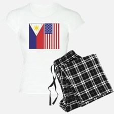 Philippine Flag & US Flag Pajamas