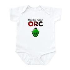 Daddy's Little Orc Infant Bodysuit
