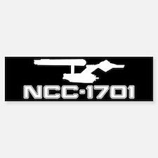 NCC-1701 (black) Car Car Sticker