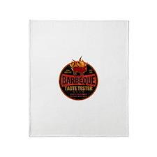 BBQ TASTE TESTER Throw Blanket