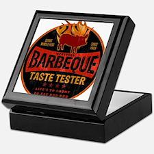 BBQ TASTE TESTER Keepsake Box