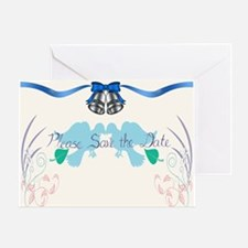 Cute Saved bell Greeting Card