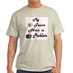 My Drinking Team Has a Curlin Ash Grey T-Shirt
