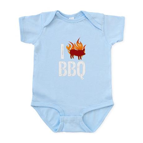 I (HEART) BBQ Infant Bodysuit