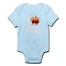 I (HEART) BBQ Infant Bodysuit