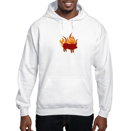 I (HEART) BBQ Hooded Sweatshirt