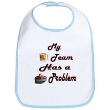 My Drinking Team Has a Curlin Bib