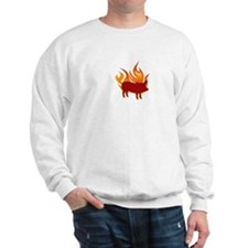 I (HEART) BBQ Sweatshirt